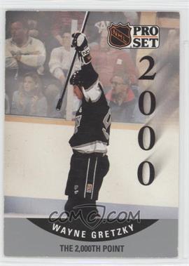 1990-91 Pro Set #703 - Wayne Gretzky
