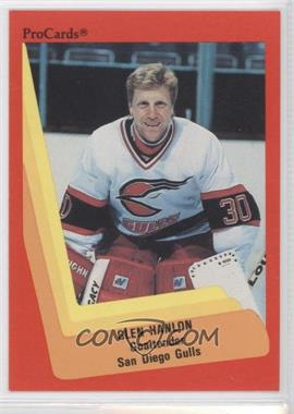 1990-91 ProCards #305 - Glen Hanlon