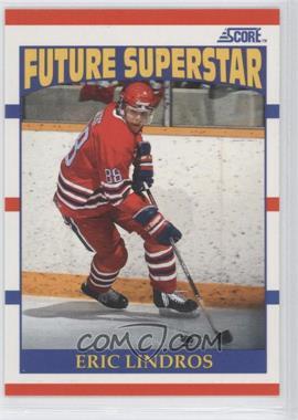 1990-91 Score - [Base] #440 - Eric Lindros