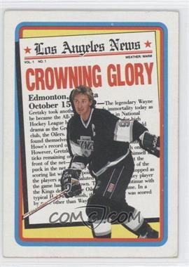1990-91 Topps #3 - Wayne Gretzky
