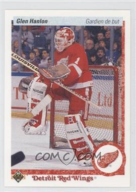 1990-91 Upper Deck French #395 - Glen Hanlon