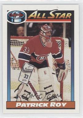 1991-92 O-Pee-Chee #270 - Patrick Roy