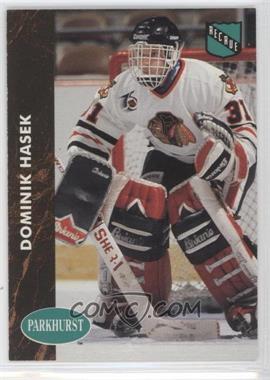 1991-92 Parkhurst French #263 - Dominik Hasek