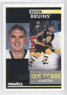1991-92 Pinnacle #203 - Ken Hodge