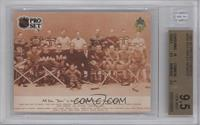 Ace Bailey Benefit Game 1914 - First All-Star Game [BGS 9.5]