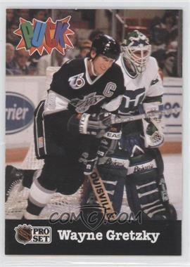 1991-92 Pro Set Puck #11 - Wayne Gretzky