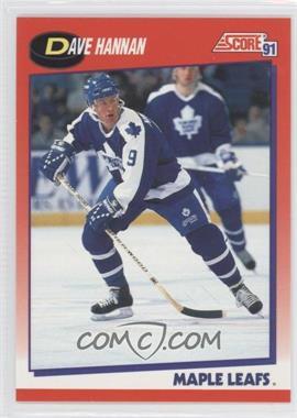 1991-92 Score Canadian Bilingual #241 - Dave Hannan