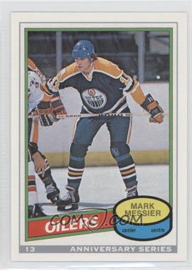 1992-93 O-Pee-Chee Anniversary Series #13 - Mark Messier
