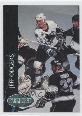 1992-93 Parkhurst - [Base] #398 - Jeff Odgers