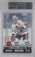 Chris Chelios, Ray Bourque [BGS 8.5]