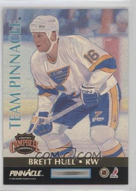 1992-93 Pinnacle - Team Pinnacle #6 - Jaromir Jagr, Brett Hull