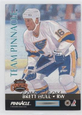 1992-93 Pinnacle Team Pinnacle #6 - Jaromir Jagr, Brett Hull
