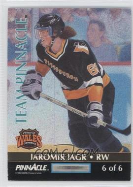 1992-93 Pinnacle Team Pinnacle #6 - Jaromir Jagr