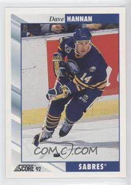 1992-93 Score - [Base] #538 - Dave Hannan