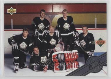 1992-93 Upper Deck - All-Rookie Team #AR7 - Checklist