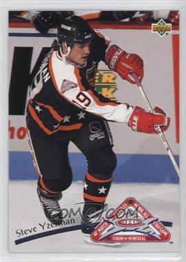 1992-93 Upper Deck - All-Stars #36 - Steve Yzerman