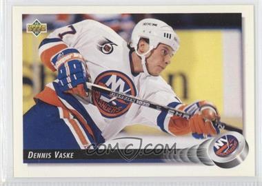 1992-93 Upper Deck - [Base] #50 - Dennis Vaske