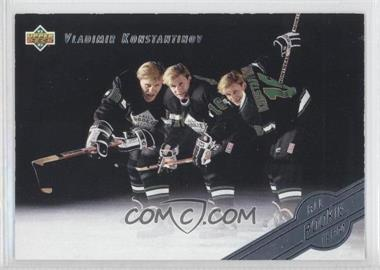 1992-93 Upper Deck All-Rookie Team #AR5 - Vladimir Konstantinov