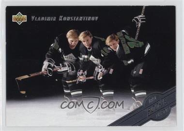 1992-93 Upper Deck All-Rookie Team #AR5 - Vladimir Konstantinov