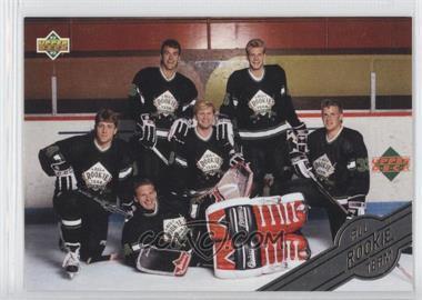 1992-93 Upper Deck All-Rookie Team #AR7 - Checklist