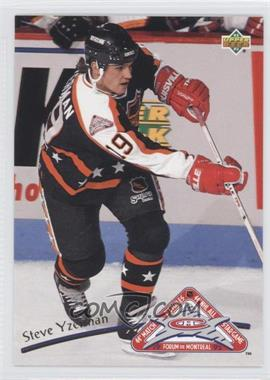 1992-93 Upper Deck All-Stars #36 - Steve Yzerman