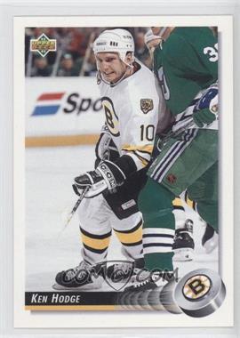1992-93 Upper Deck #254 - Ken Hodge