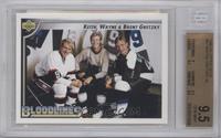 Wayne Gretzky, Keith Gretzky, Brent Gretzky [BGS9.5]