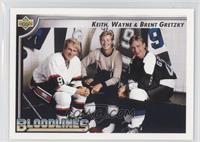 Wayne Gretzky, Keith Gretzky, Brent Gretzky