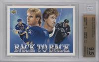 Brett Hull, Wayne Gretzky [BGS9.5]