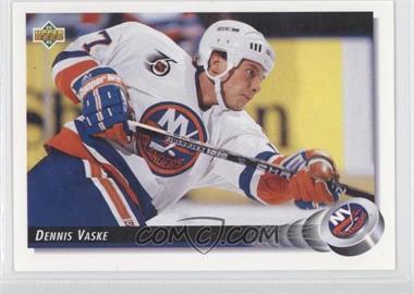 1992-93 Upper Deck #50 - Dennis Vaske