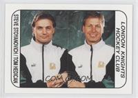 Steve Stoyanovich, Tom Hedican