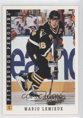 1993-94 Score Starting Lineup #350 - Mario Lemieux
