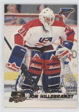 1993-94 Topps Premier [???] #10 - John Hillebrandt