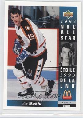 1993-94 Upper Deck McDonald's [???] #McD-24 - Joe Sakic