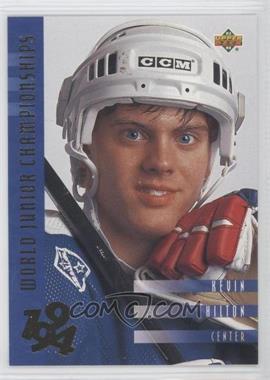 1993-94 Upper Deck #567 - Kevin Hilton