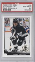 Wayne Gretzky (Gold All-Time Goal Scorer Stamp) [PSA 8.5]