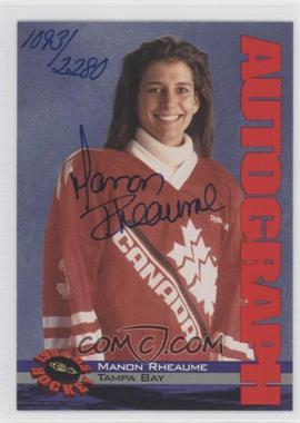 1994-95 Classic [???] #N/A - Manon Rheaume /2280
