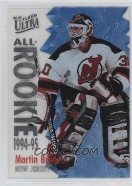 1994-95 Fleer Ultra - All-Rookie #2 - Martin Brodeur