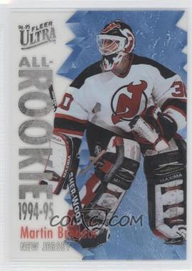 1994-95 Fleer Ultra All-Rookie #2 - Martin Brodeur