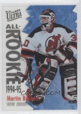1994-95 Fleer Ultra All-Rookie #2 - Martin Brodeur