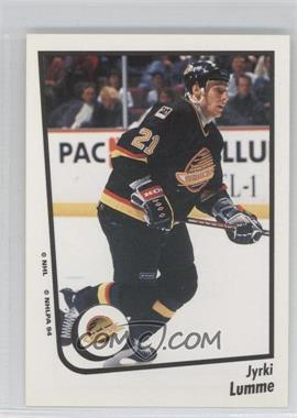 1994-95 Panini Album Stickers #151 - Jyrki Lumme