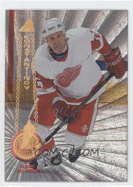 1994-95 Pinnacle - [Base] - Rink Collection #116 - Vladimir Konstantinov