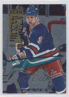 1994-95 Pinnacle Team Pinnacle Dufex Back #TP6 - Adam Graves