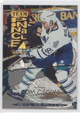 1994-95 Pinnacle Team Pinnacle Dufex Front #TP10 - Doug Gilmour, Mario Lemieux