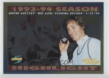 1994-95 Score Gold Line #241 - Wayne Gretzky