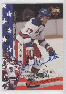 1994-95 Signature Rookies Miracle on Ice 1980 Authentic Signature [Autographed] #37 - [Missing] /2000