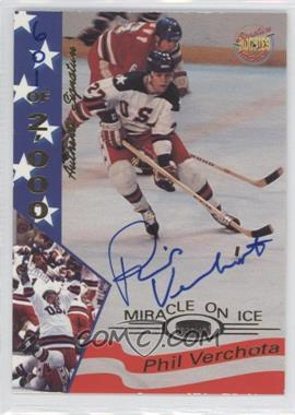 1994-95 Signature Rookies Miracle on Ice 1980 Authentic Signature [Autographed] #38 - Phil Verchota /2000