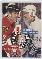 Chris Chelios, Chris Pronger