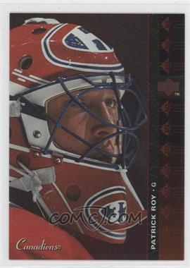 1994-95 Upper Deck - SP #SP-42 - Patrick Roy