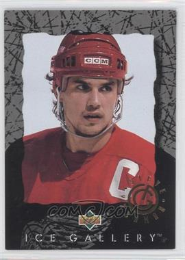 1994-95 Upper Deck Ice Gallery #IG1 - Steve Yzerman
